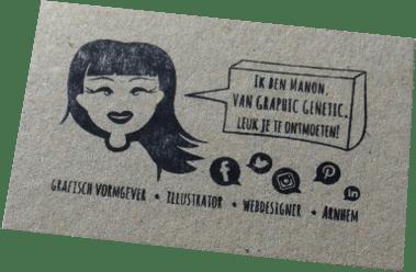 stempel-visitekaartje