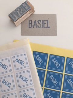 stempel + stickers