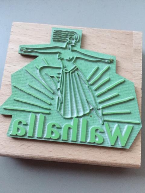 Stempels van eco rubber met super veel detail, gemaakt met de laser!