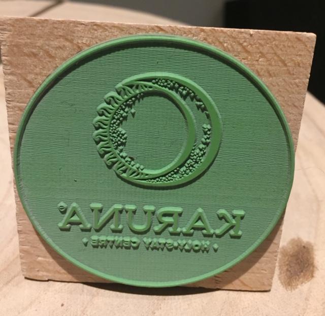 eco rubber stempel