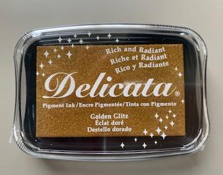 delicata goud stempelkussen