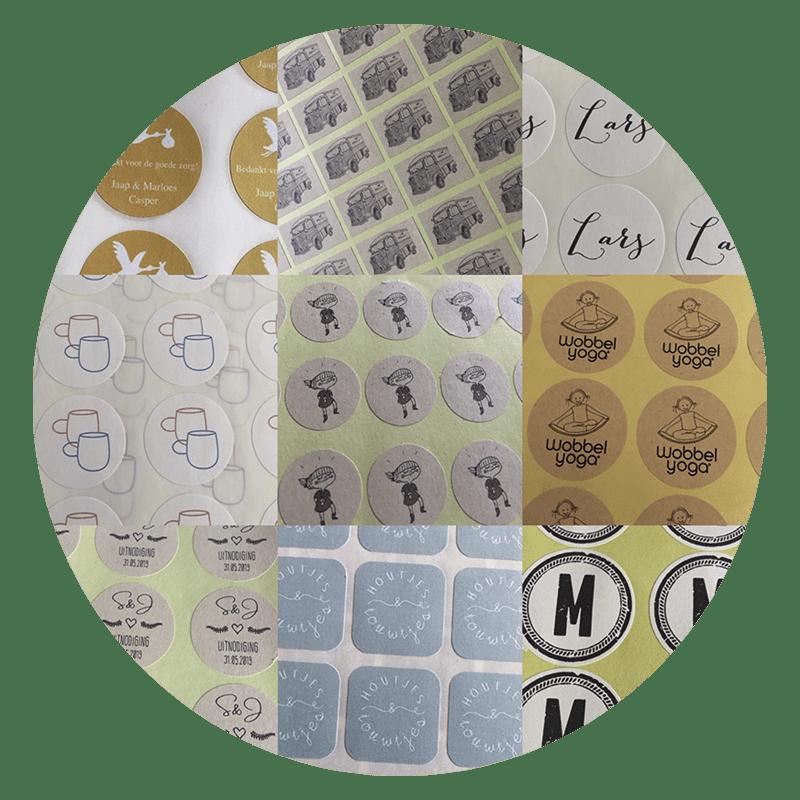 stickers per A4