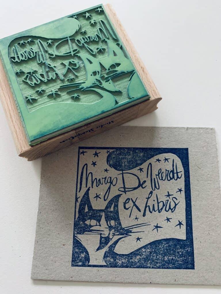 ex-libris stempel