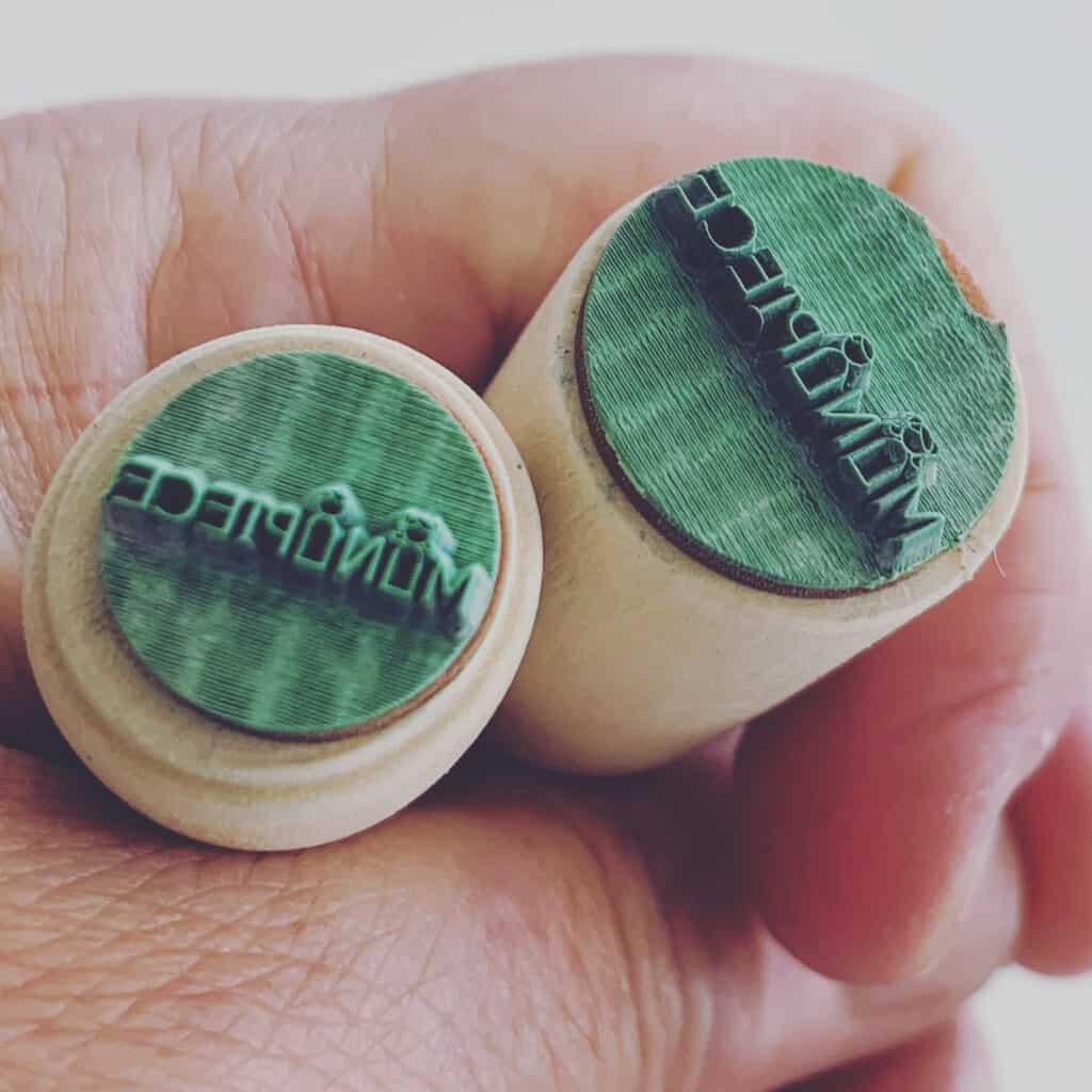 hele kleine stempel minipiece