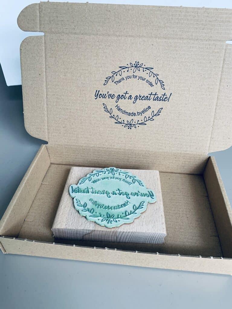 stempel voor brievenbusdoos